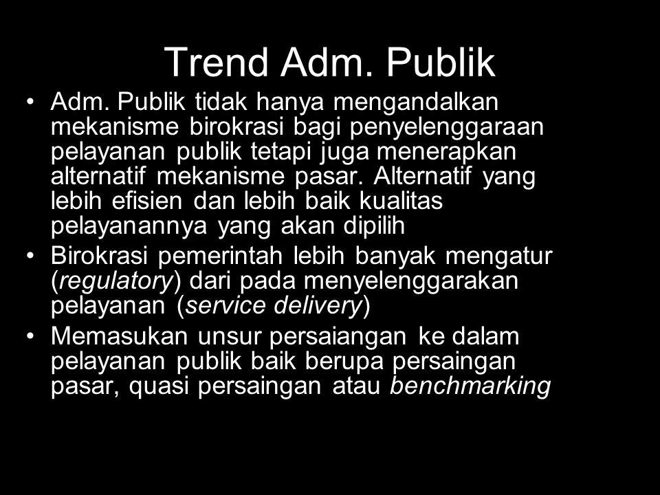 Trend Adm. Publik