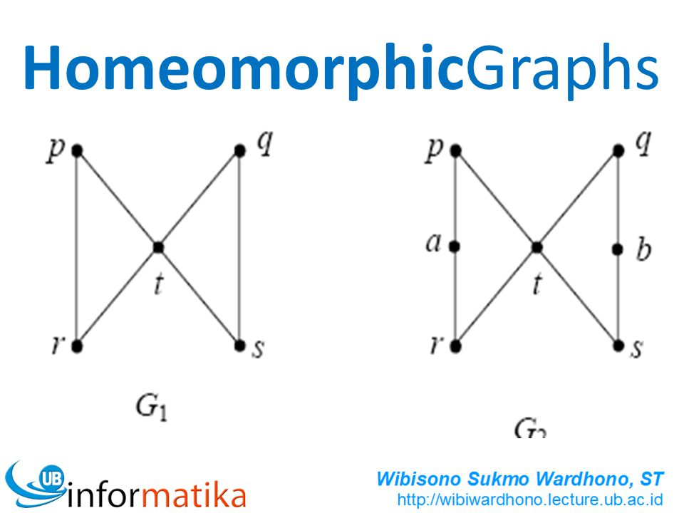 HomeomorphicGraphs