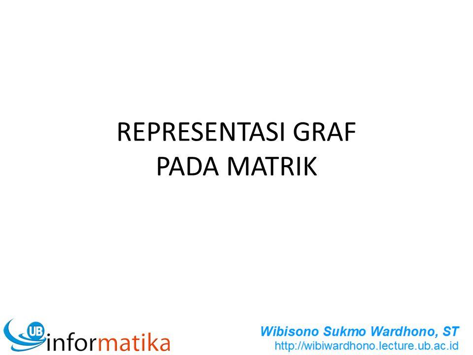 REPRESENTASI GRAF PADA MATRIK