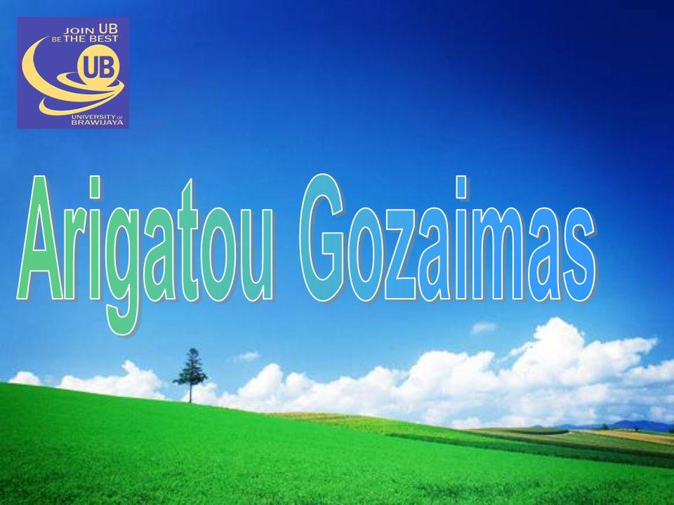 Arigatou Gozaimas