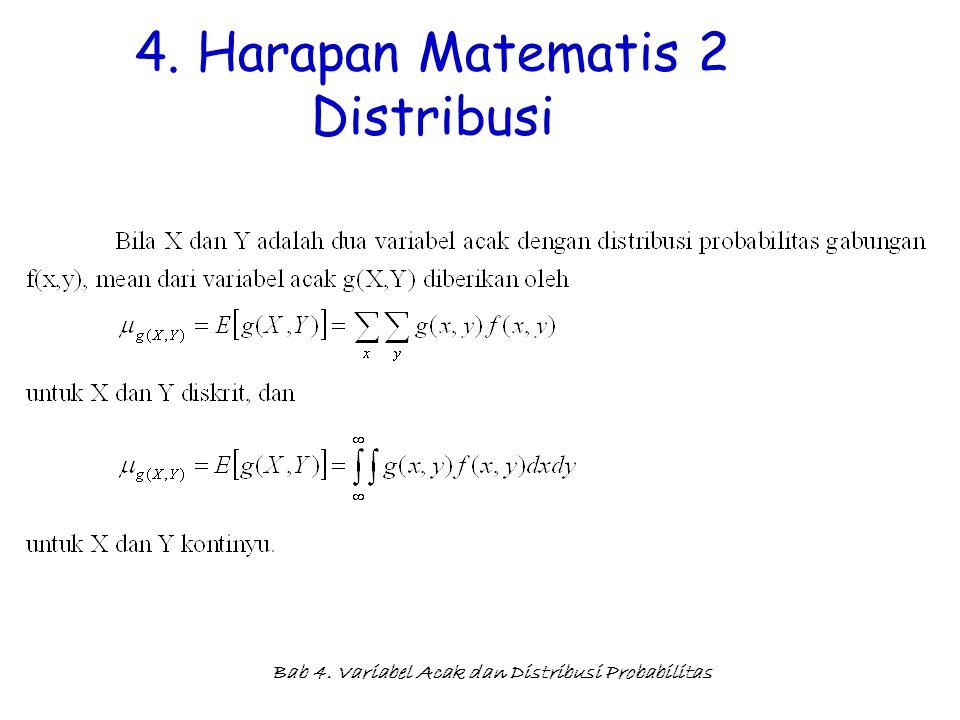 4. Harapan Matematis 2 Distribusi