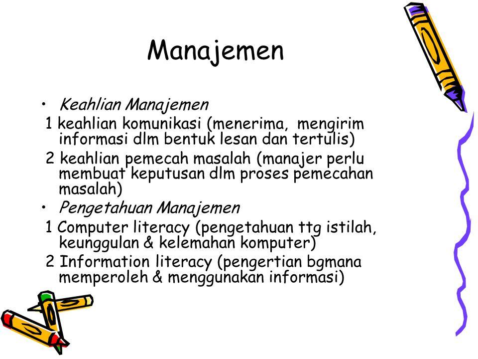 Manajemen Keahlian Manajemen