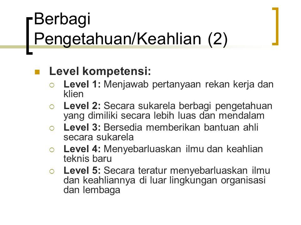 Berbagi Pengetahuan/Keahlian (2)