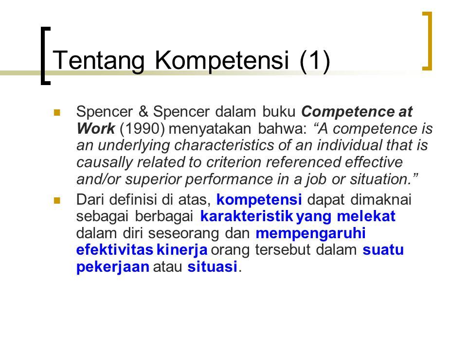 Tentang Kompetensi (1)