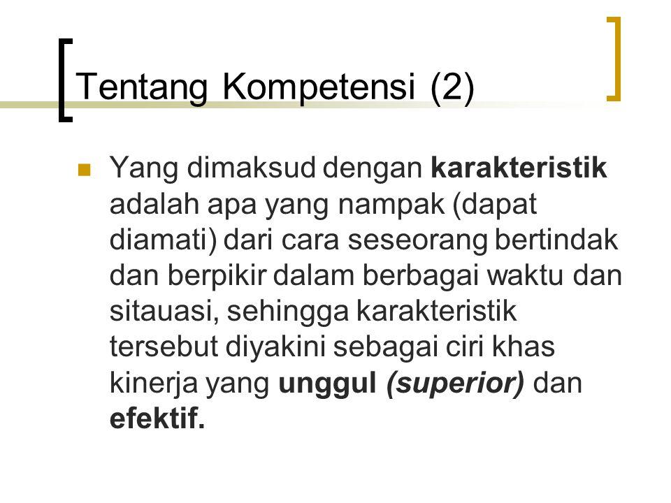 Tentang Kompetensi (2)