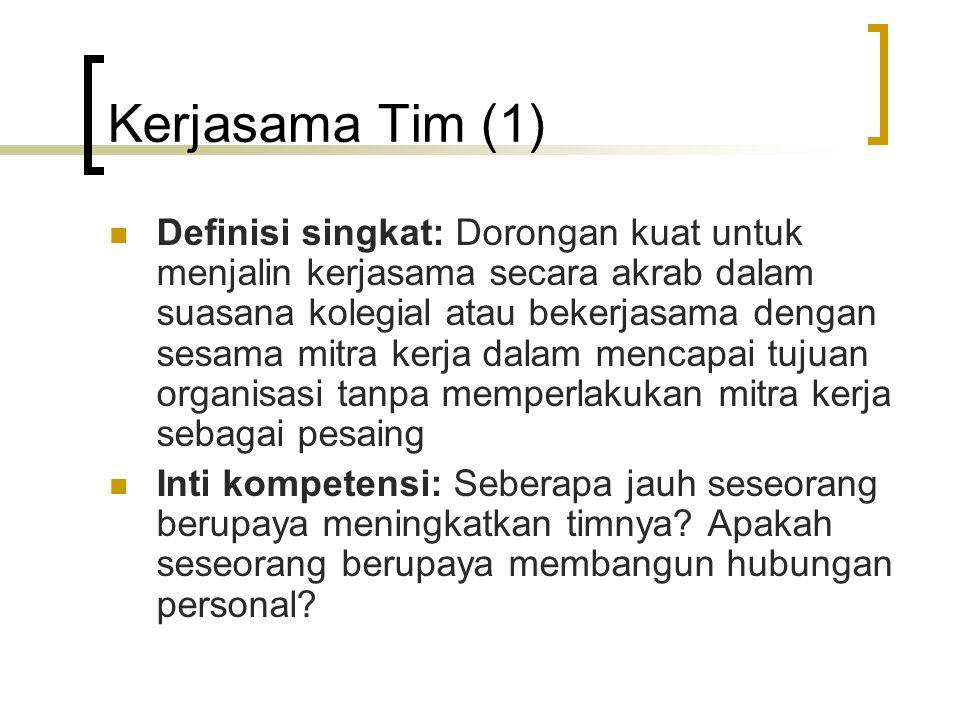 Kerjasama Tim (1)