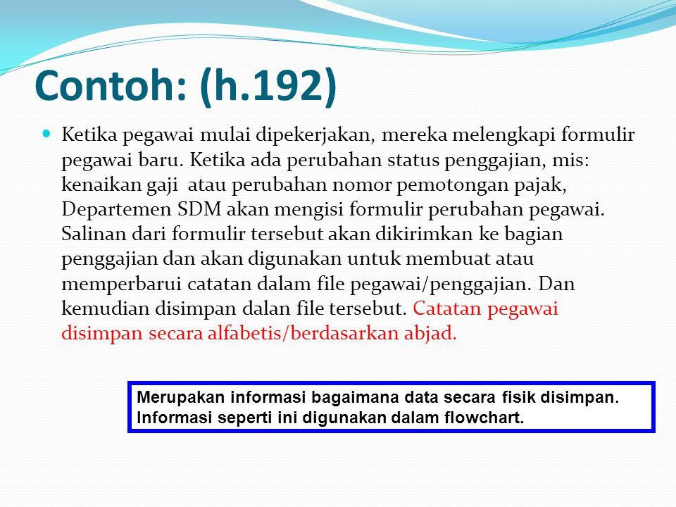 Contoh: (h.192)