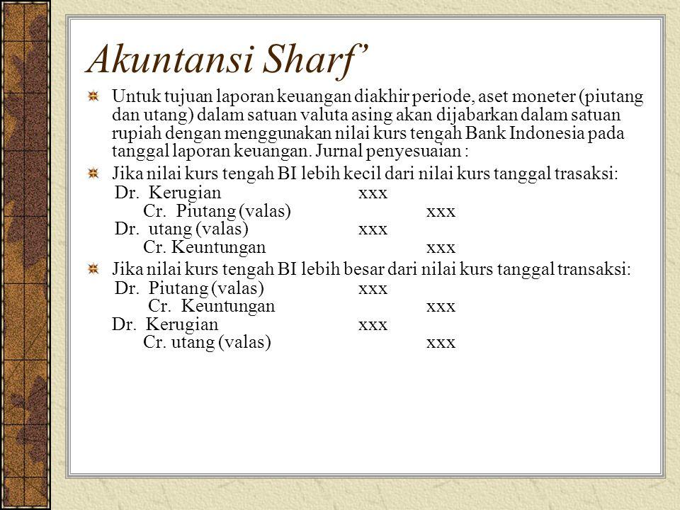 Akuntansi Sharf'