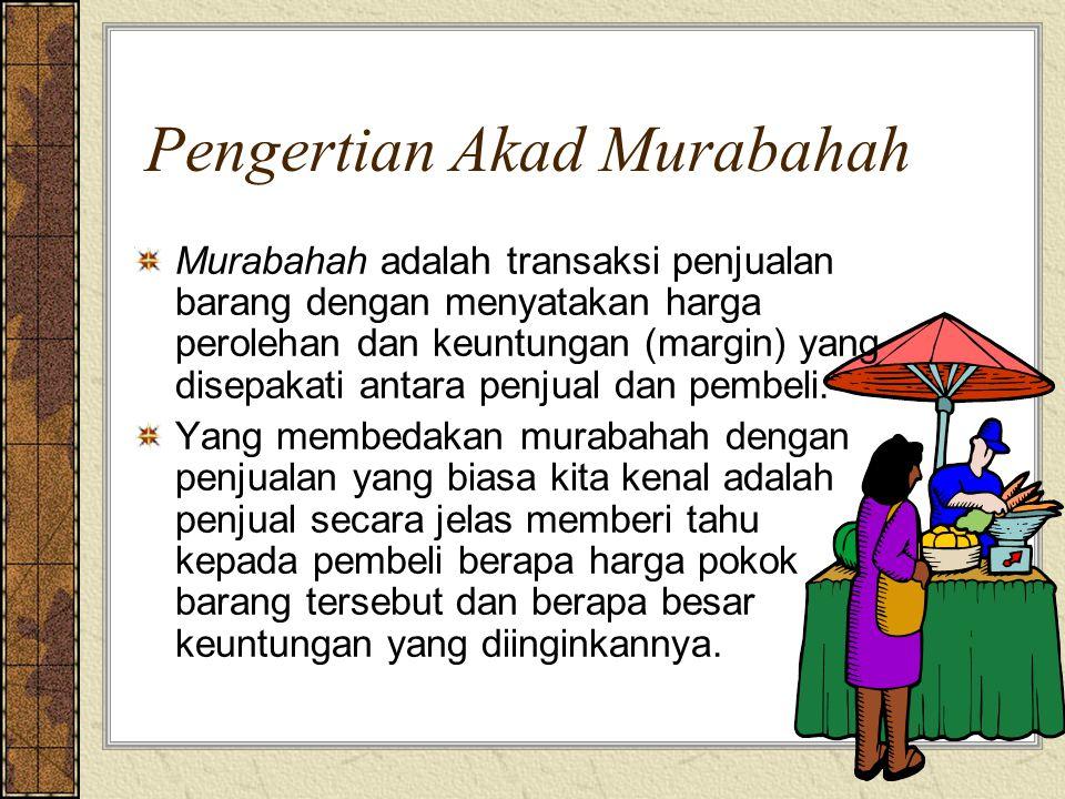 Pengertian Akad Murabahah