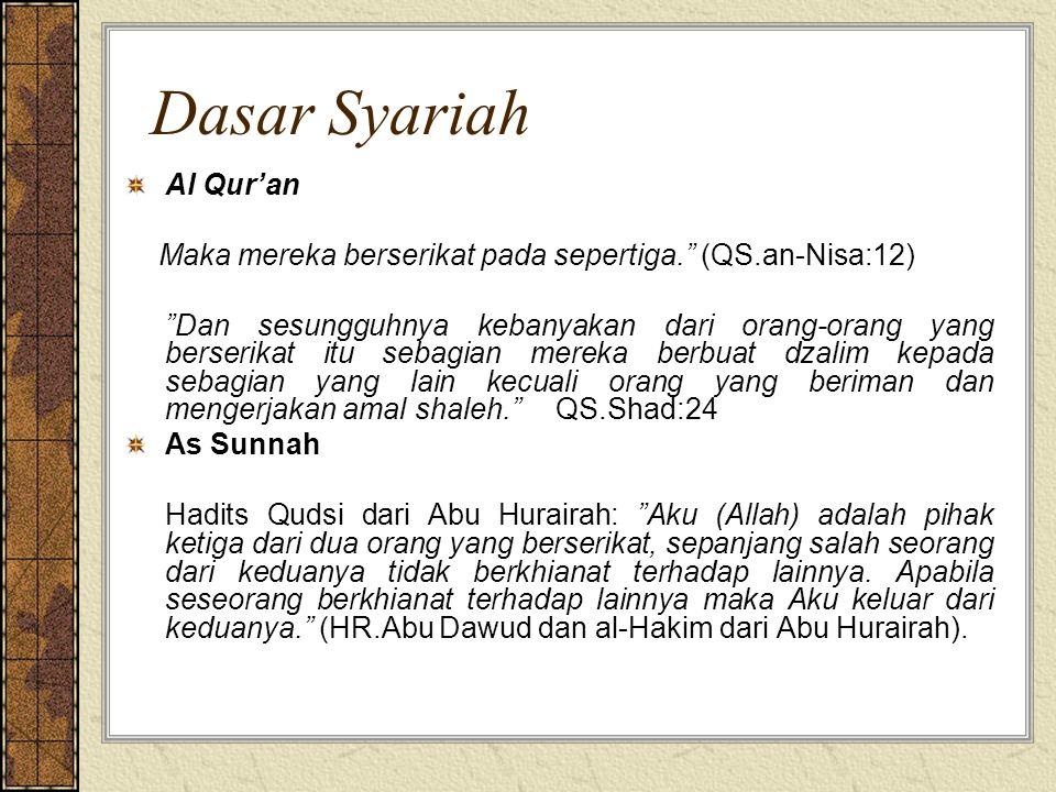Dasar Syariah Al Qur'an