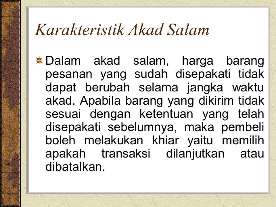 Karakteristik Akad Salam