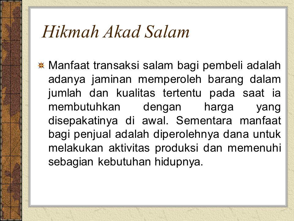 Hikmah Akad Salam