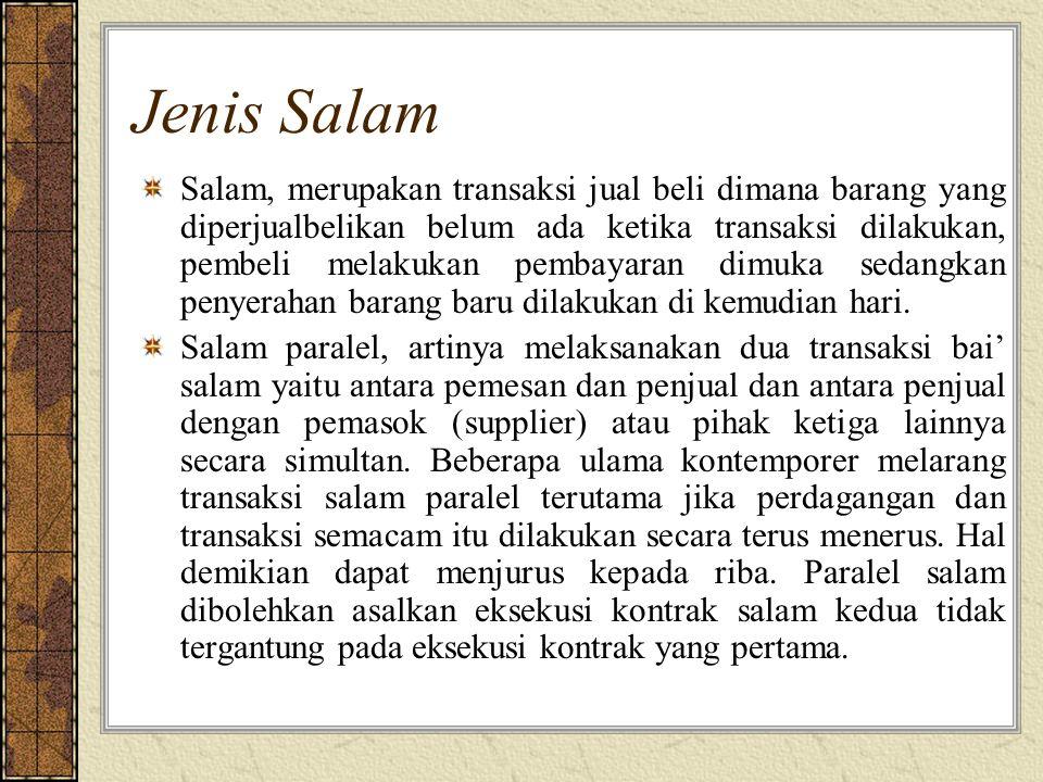 Jenis Salam