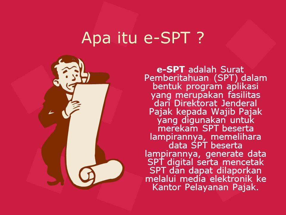 Apa itu e-SPT