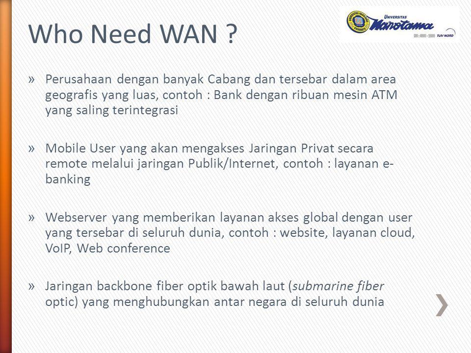 Who Need WAN
