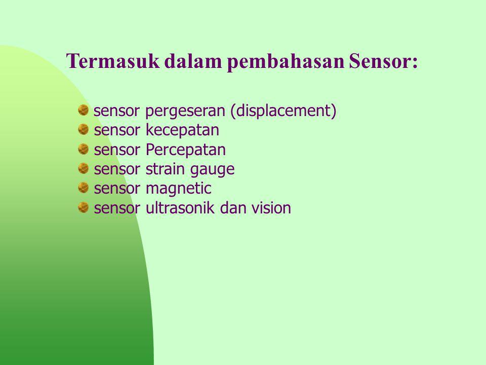 Termasuk dalam pembahasan Sensor: