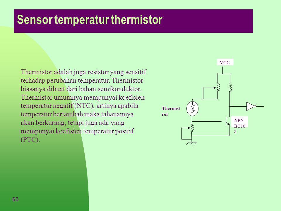 Sensor temperatur thermistor