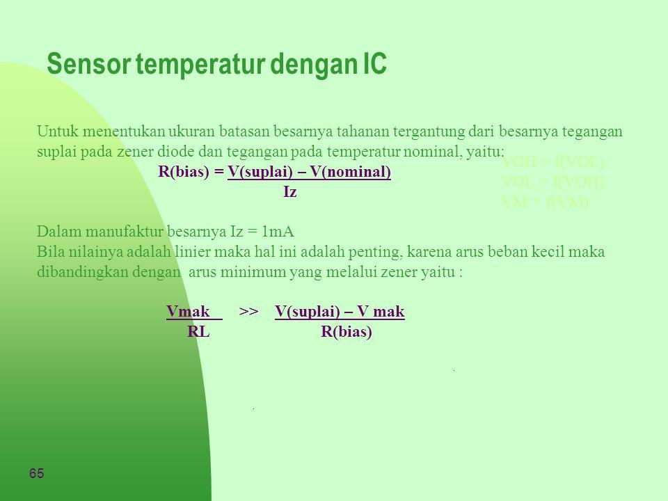 Sensor temperatur dengan IC