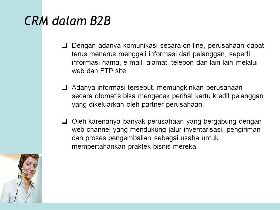CRM dalam B2B