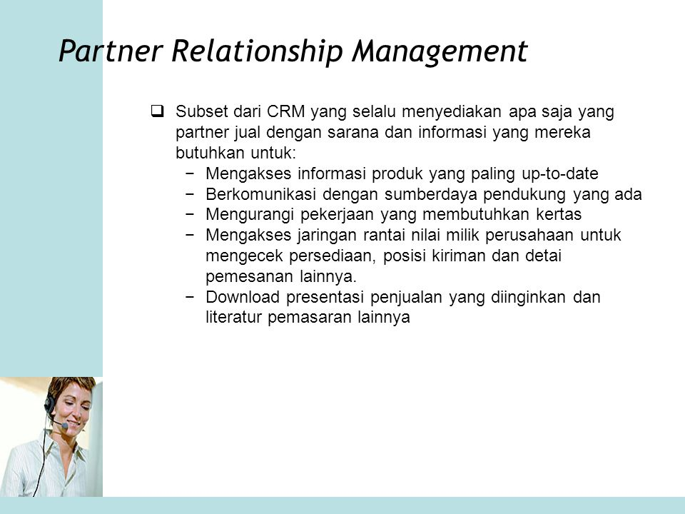 Partner Relationship Management