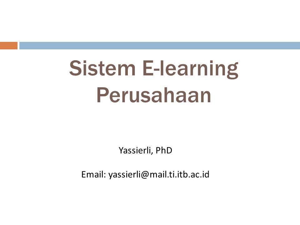 Sistem E-learning Perusahaan