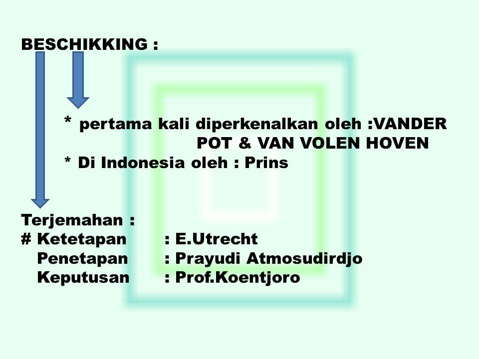 * Di Indonesia oleh : Prins
