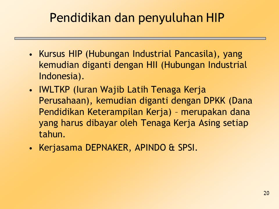 Pendidikan dan penyuluhan HIP