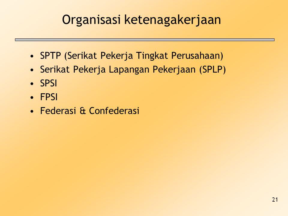 Organisasi ketenagakerjaan