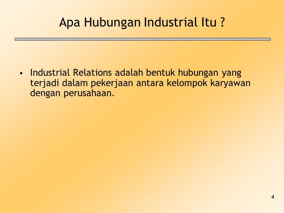 Apa Hubungan Industrial Itu
