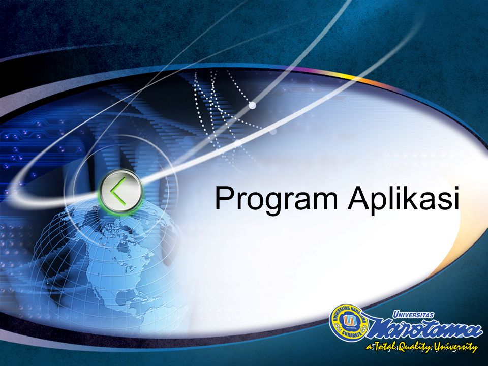 Program Aplikasi Edit your company slogan