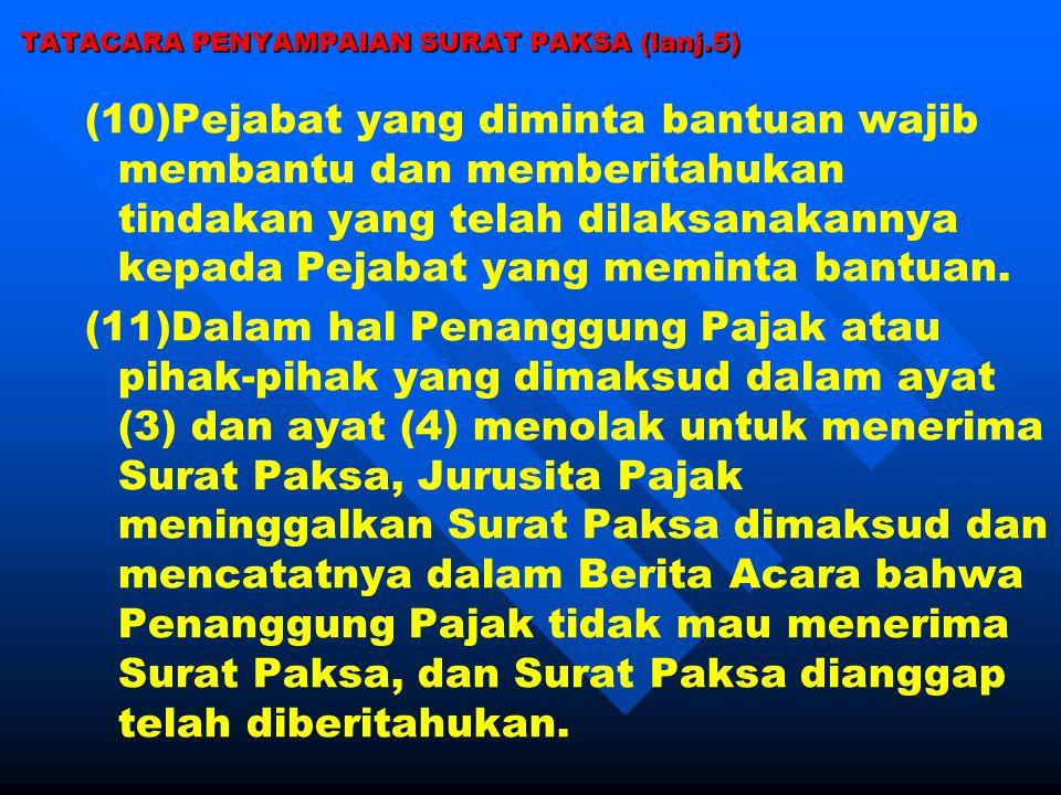 TATACARA PENYAMPAIAN SURAT PAKSA (lanj.5)