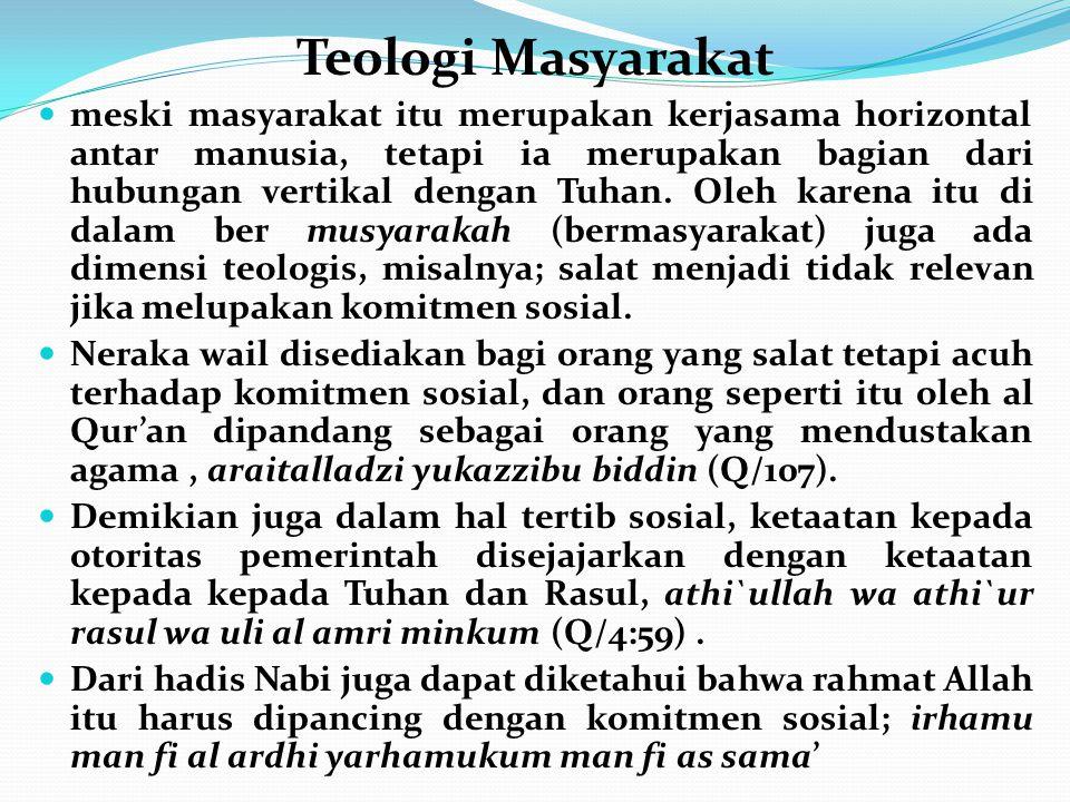 Teologi Masyarakat