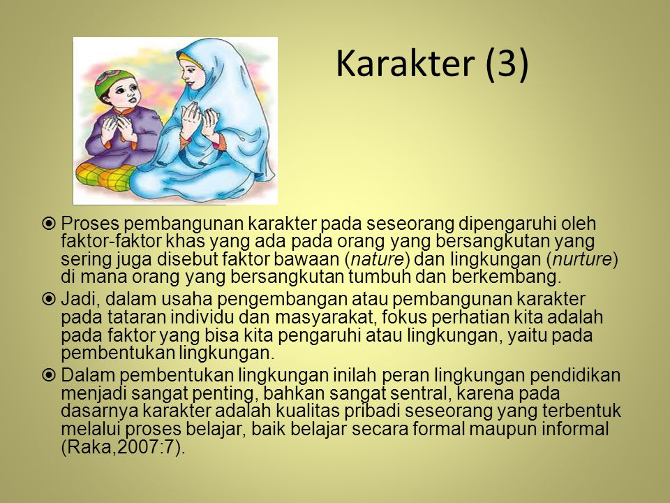 Karakter (3)