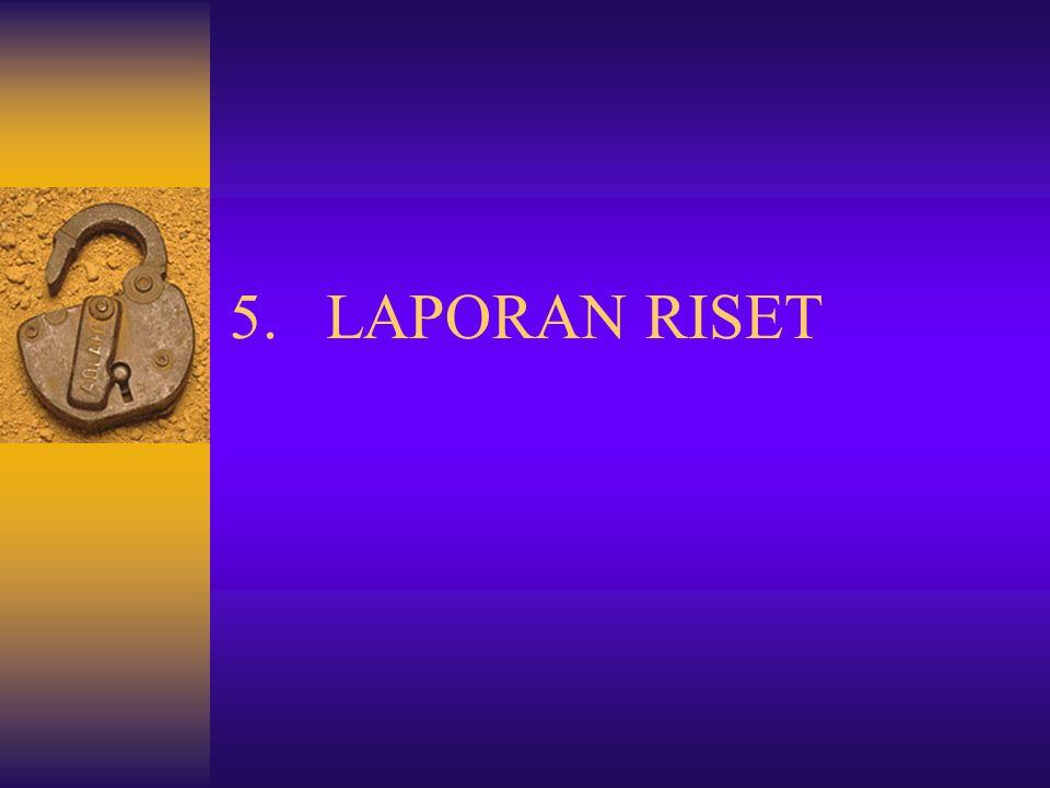 LAPORAN RISET