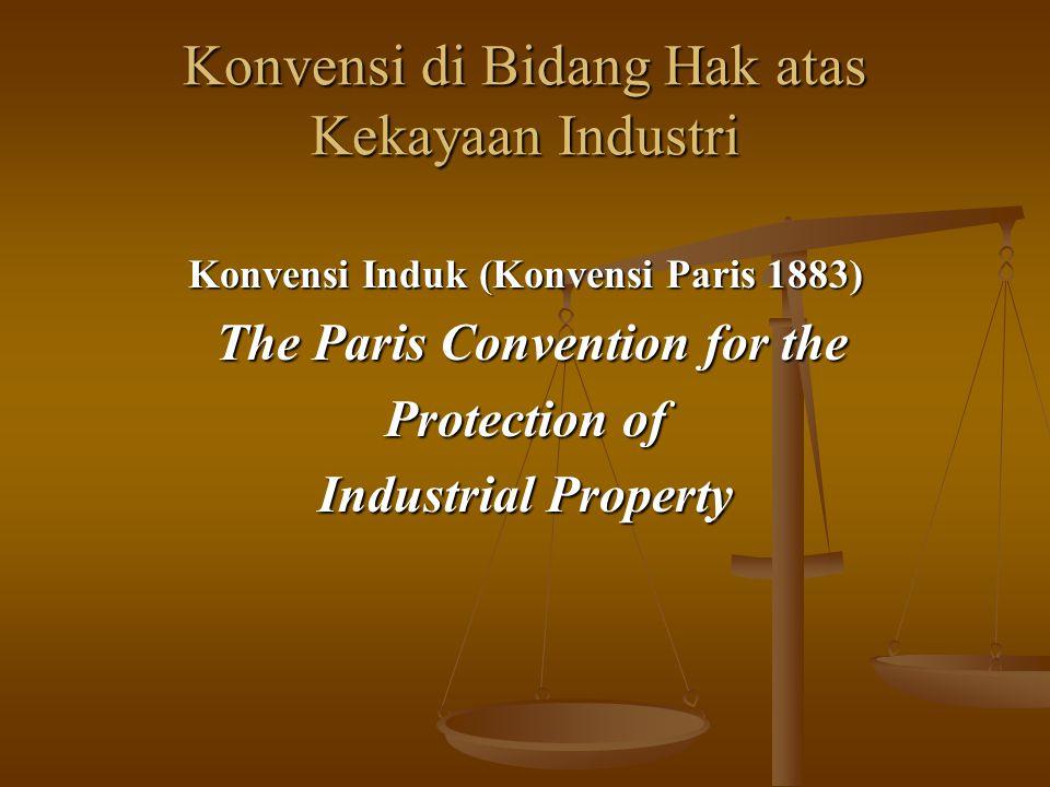 Konvensi di Bidang Hak atas Kekayaan Industri