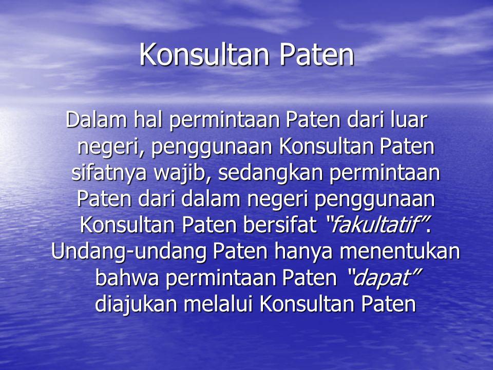 Konsultan Paten