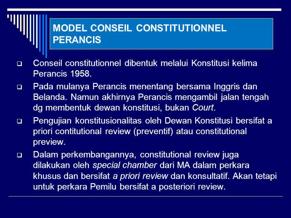 MODEL CONSEIL CONSTITUTIONNEL PERANCIS