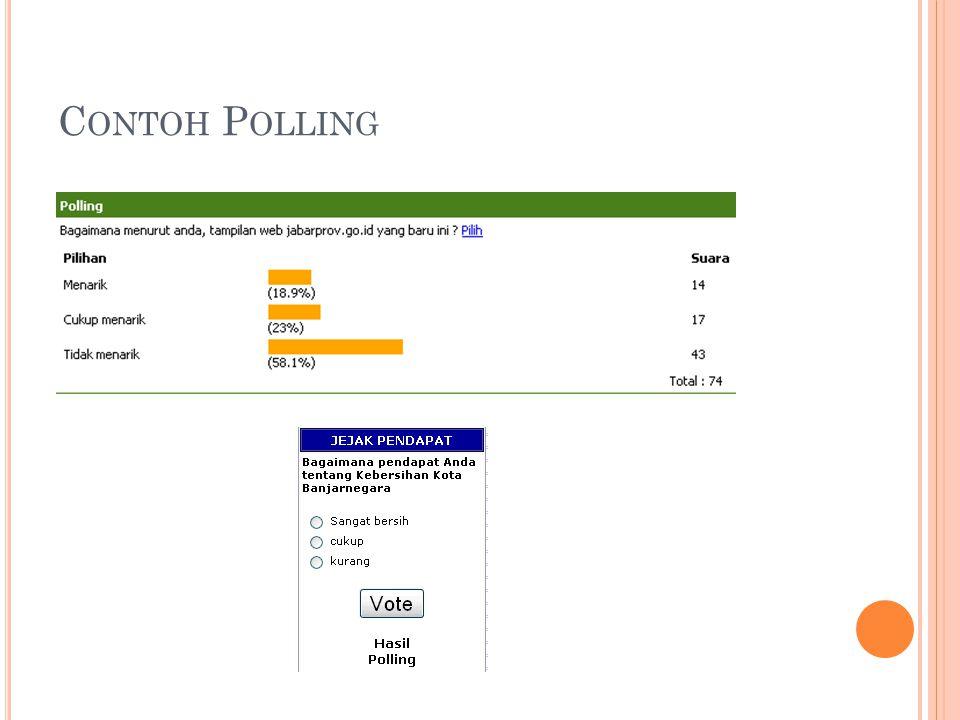 Contoh Polling