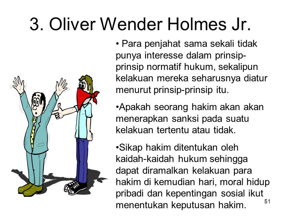 3. Oliver Wender Holmes Jr.