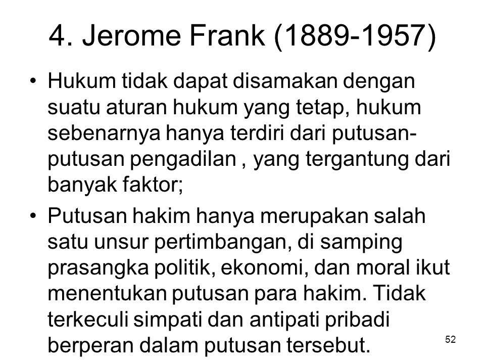 4. Jerome Frank (1889-1957)