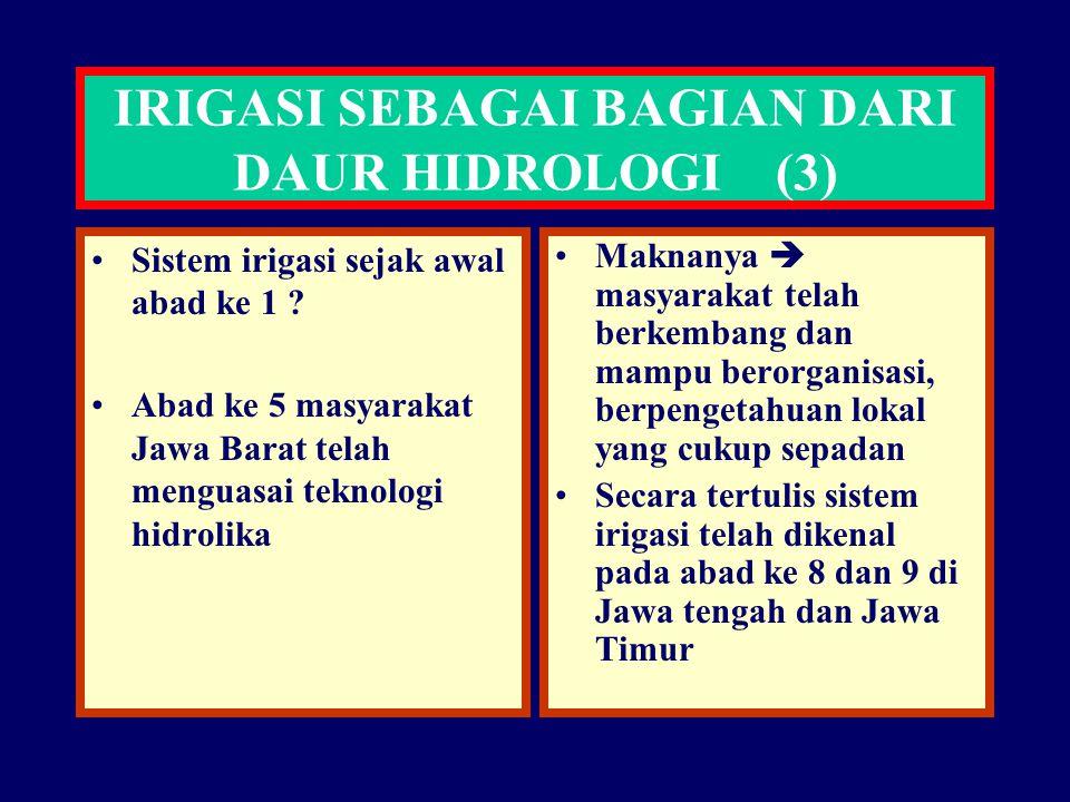 IRIGASI SEBAGAI BAGIAN DARI DAUR HIDROLOGI (3)