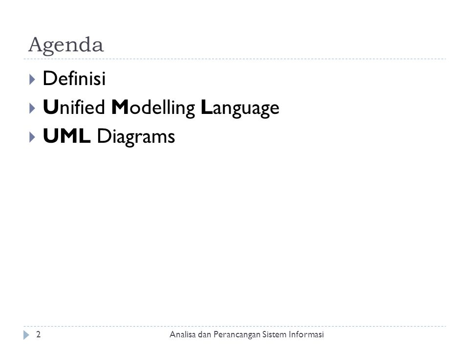 Unified Modelling Language UML Diagrams