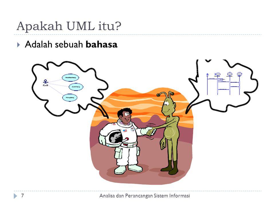 Apakah UML itu Adalah sebuah bahasa