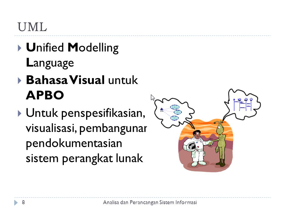 Unified Modelling Language Bahasa Visual untuk APBO