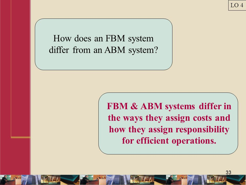 How does an FBM system differ from an ABM system