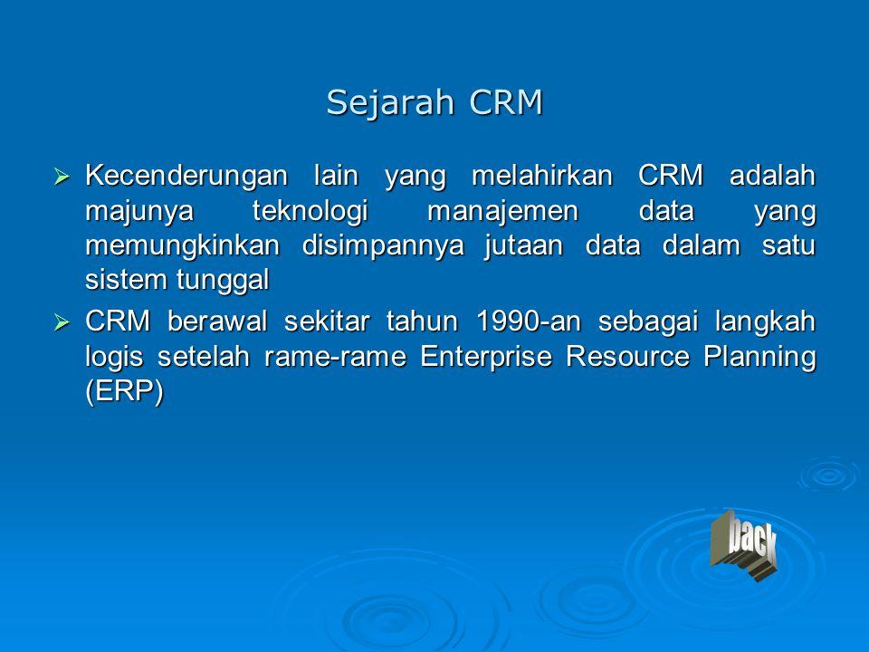 Sejarah CRM