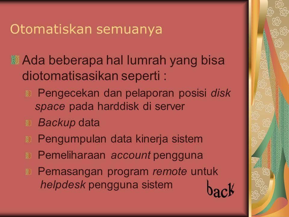 back Otomatiskan semuanya