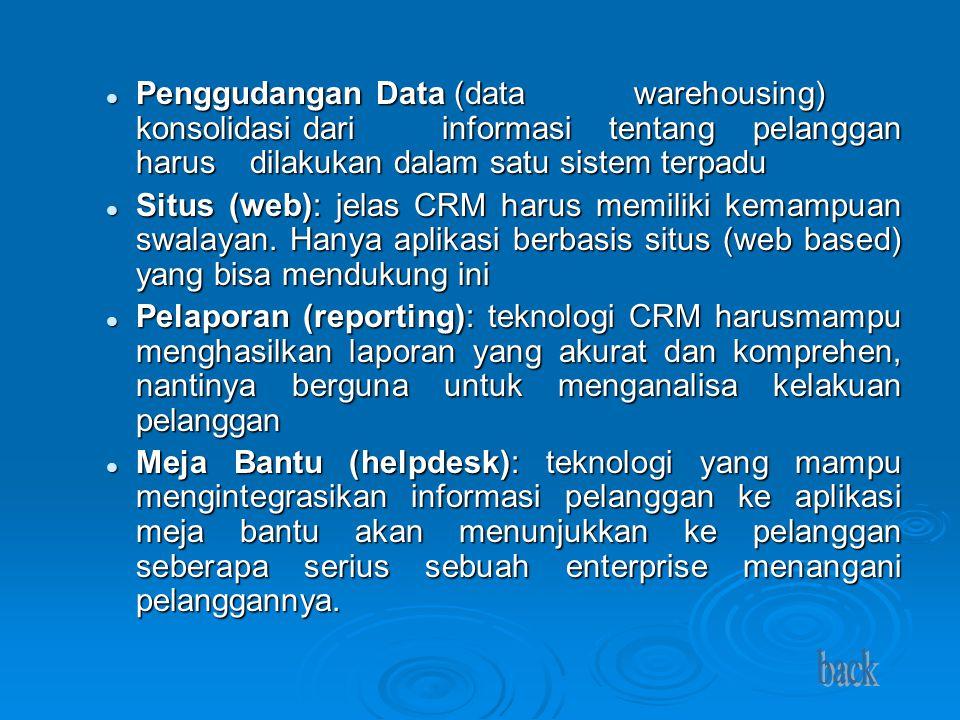 Penggudangan Data (data. warehousing) konsolidasi dari