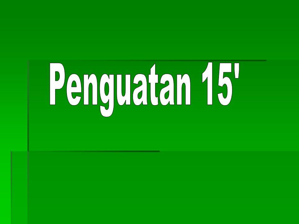 Penguatan 15