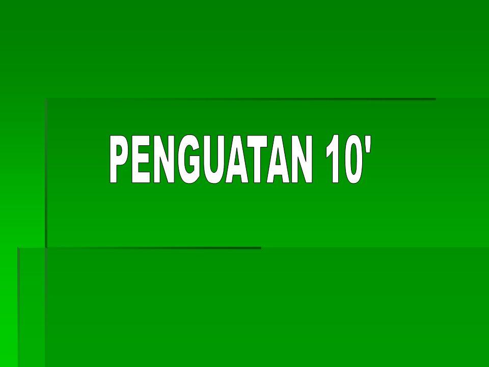 PENGUATAN 10